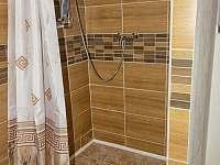 Sprchový kout - chalupa k pronajmutí Prosíčka u Sečské přehrady