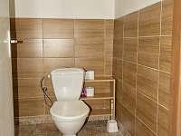 WC - chalupa k pronájmu Prosíčka u Sečské přehrady