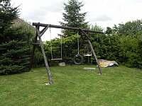 Zahrada - chata k pronajmutí Doubravice
