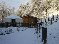 Jurta Kojovec - chata k pronájmu Dlouhá Třebová