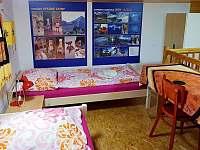 Podkrovní pokoj - ubytování Linhartice