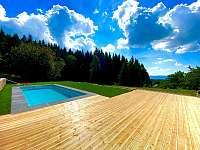 Bazén s terasou - Janovičky