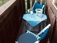 Balkónem malý z podkroví - chata ubytování Křížanovice