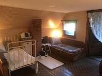 Podkroví pokoj 3x lůžko + - Křížanovice