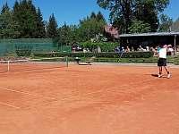 tenisové kurty s občerstvením - Seč