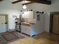 Kuchyňský kout - pronájem apartmánu Machov - Nízká Srbská