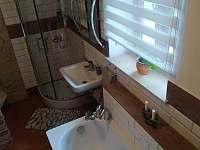 Koupelna po rekonstrukci - chalupa ubytování Podhorní Újezd a Vojice