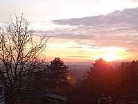 Pohled z terasy domu - Podhorní Újezd a Vojice