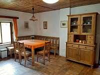 Kuchyně - pronájem chalupy Rybná nad Zdobnicí