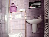 koupelna pokoje Lila - Nové Město nad Metují
