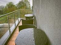 terasa u kuchyně - ubytování Nové Město nad Metují