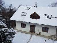 Sníh na Pumberkách - chalupa k pronajmutí Chrudim