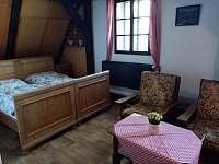 Apartmán - pokoj - pronájem chalupy Otovice u Broumova
