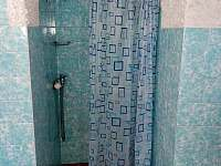 sprchový kout - chalupa k pronájmu Otovice u Broumova