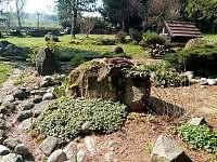 zahrada - chalupa k pronajmutí Otovice u Broumova