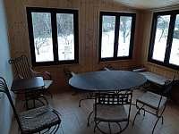 Vstupní veranda v zimě - Hněvětice