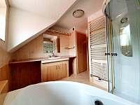Koupelna - apartmán v 1.patře - Hlinsko