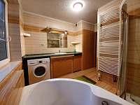 Koupelna - apartnám č.1 (přízemí) - ubytování Hlinsko