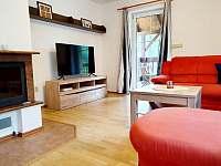 Obývák - apartmán v 1. patře - k pronájmu Hlinsko