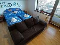 Pokoj č. 1 s manželskou postelí - apartmán k pronajmutí Bílé Poličany