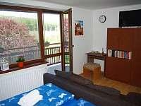 Pokoj č. 1 s manželskou postelí - apartmán ubytování Bílé Poličany