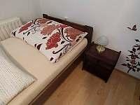 Pokoj č. 2 se samostatnými postelemi - apartmán k pronájmu Bílé Poličany