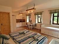 Pokoj č.1 - apartmán - pronájem chalupy Zdoňov
