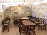 Společenská místnost - jídelna - chalupa k pronajmutí Zdoňov
