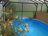 Krytý bazén - chalupa k pronájmu Police nad Metují - Hlavňov