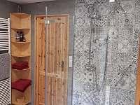 Dolní koupelna se saunou - Žďárky