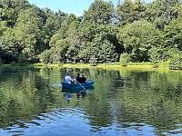 Chata Dvořákův rybník - chata ubytování Třebovice v Čechách - 9