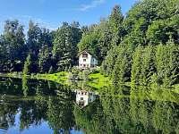 Chata Dvořákův rybník Třebovice - ubytování Třebovice v Čechách