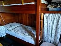 ložnice - pronájem chaty Opočno
