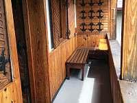 veranda - chata ubytování Opočno
