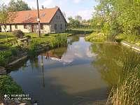 Pohled k rybníčku - chalupa k pronájmu Choteč
