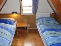 Druhá ložnice v podkroví - chata ubytování Seč - Ústupky