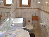 Koupelna - chata k pronajmutí Seč - Ústupky