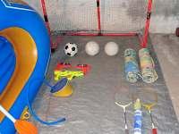 Sportovní a další vybavení - zdarma k dispozici - chata k pronájmu Seč - Ústupky