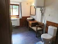 Koupelna - chalupa ubytování Velká Jesenice