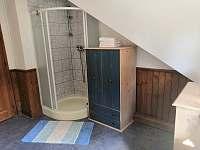 Koupelna - chalupa k pronájmu Velká Jesenice