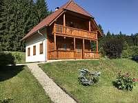 Levý přední pohled - chata ubytování Svojanov