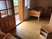 ložnice 1 - pronájem chaty Svojanov