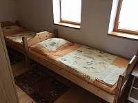 ložnice 2 - chata k pronajmutí Svojanov