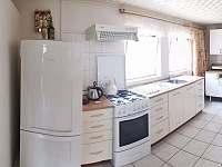 kuchyň - chata k pronajmutí Skořenice - Vrchovina