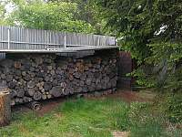 Otopné dřevo - chata k pronajmutí Skořenice - Vrchovina
