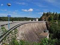 hráz sečské přehrady