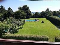 Apartmá č. 3 - pohled z balkonu - Šeřeč