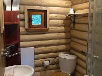 koupelna - teplá voda, splachovací WC