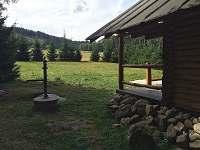 """pohled na sever směr kopec """"Bor""""  - 810 m."""