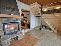 Obývací pokoj s lůžkem - Batňovice